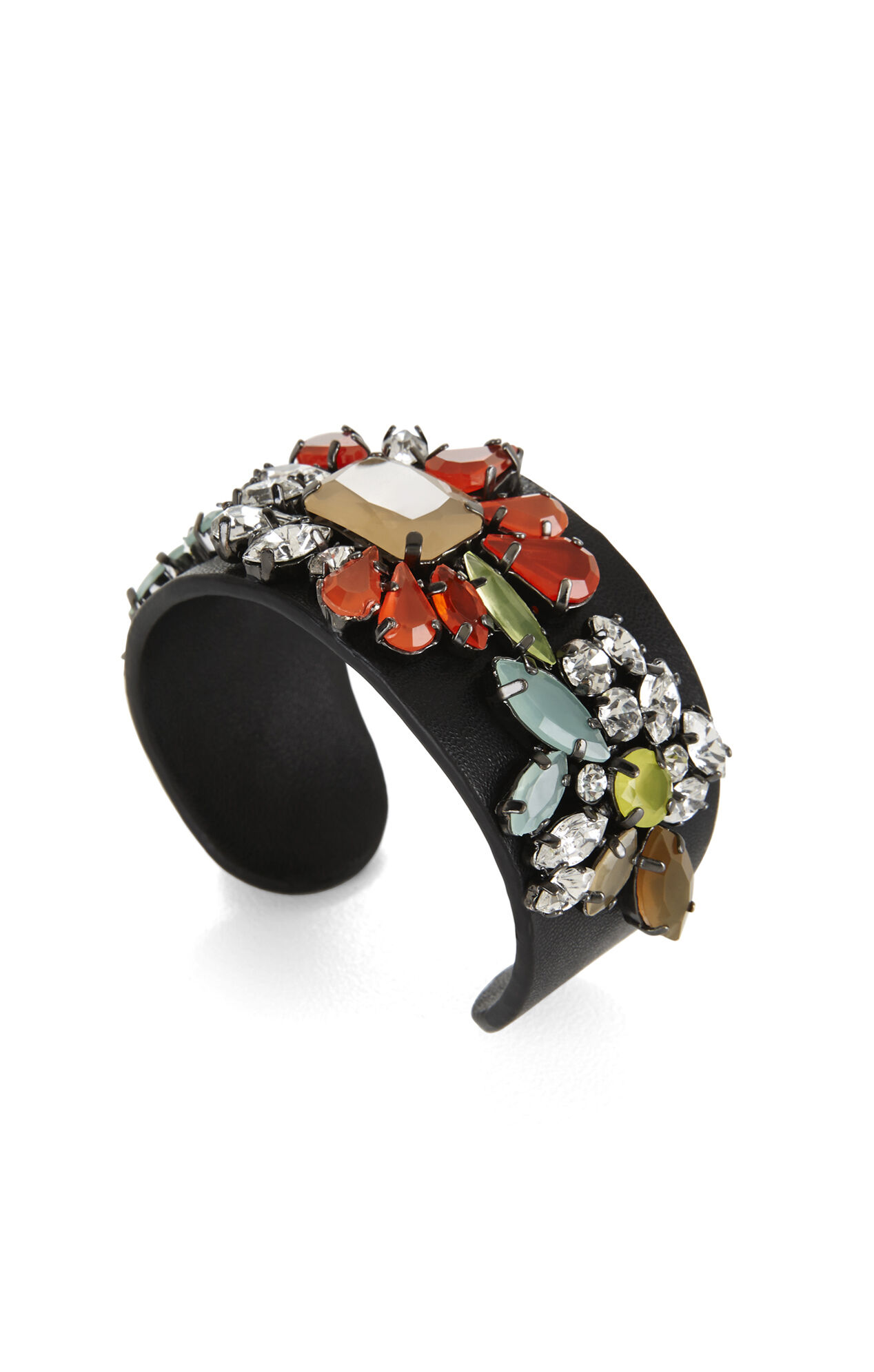 Multicolor Floral Cuff