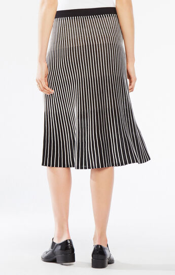 Mindi Pointelle Stitch Midi Skirt