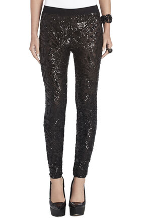 Selby Deco Sequin-Applique Legging