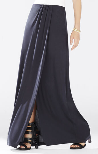 Andreea Overlapped Draped Skirt