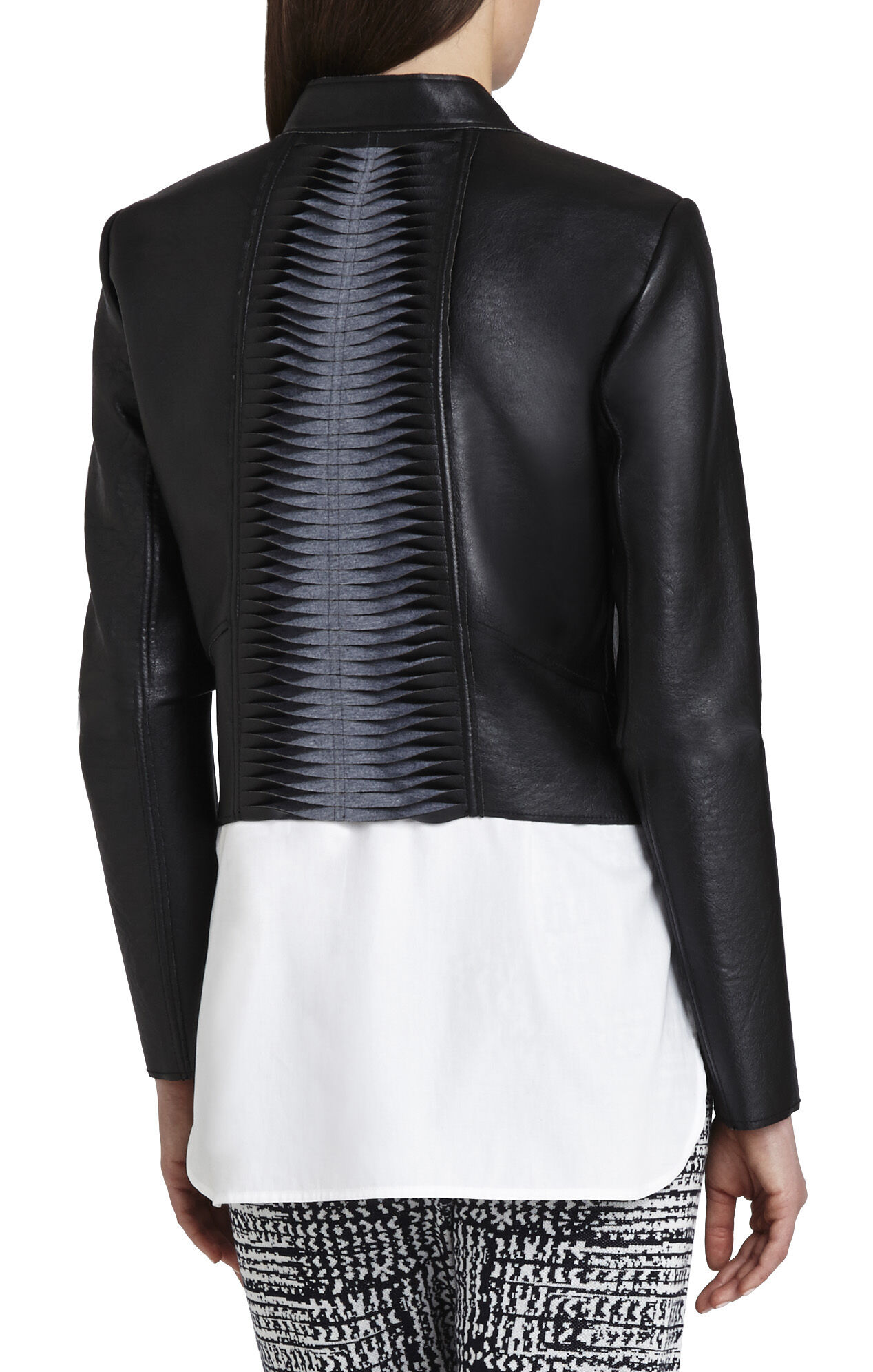 Lloyd Bonded Faux-Leather Jacket