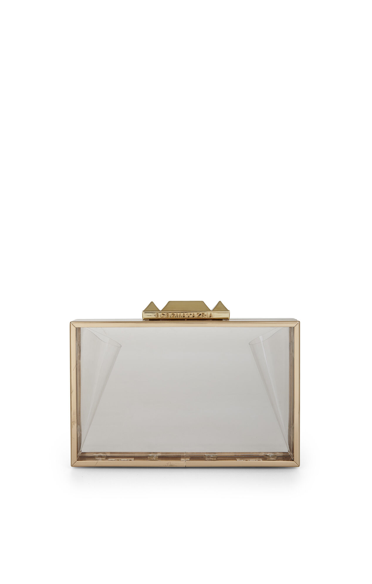 Crawford Lucite Clutch With Shell