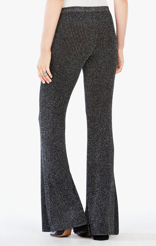 Omar Metallic Flared Pant
