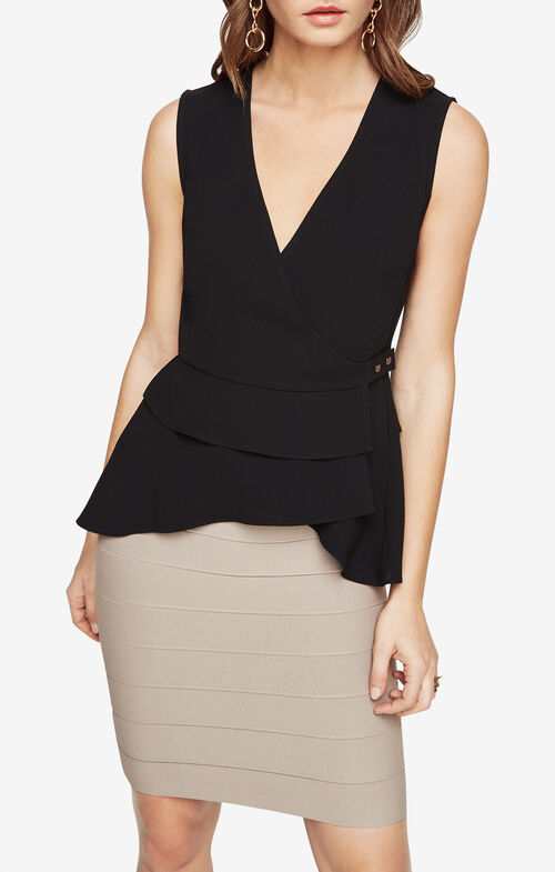 Eleni Peplum Top