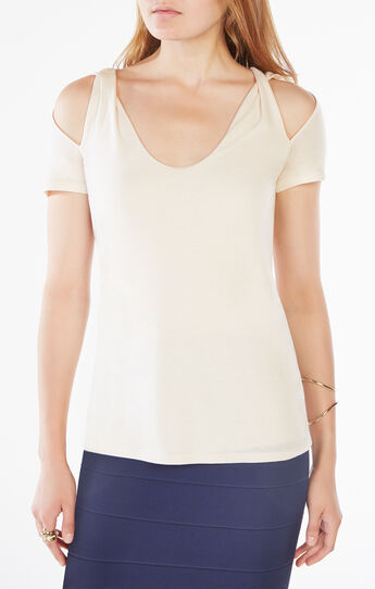 Louella Cold-Shoulder Top