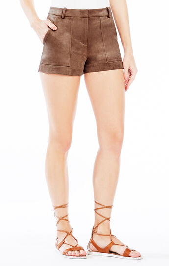 Sergio Faux-Suede Short