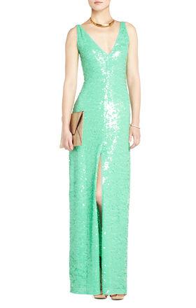 Sumner Sequined Evening Dress