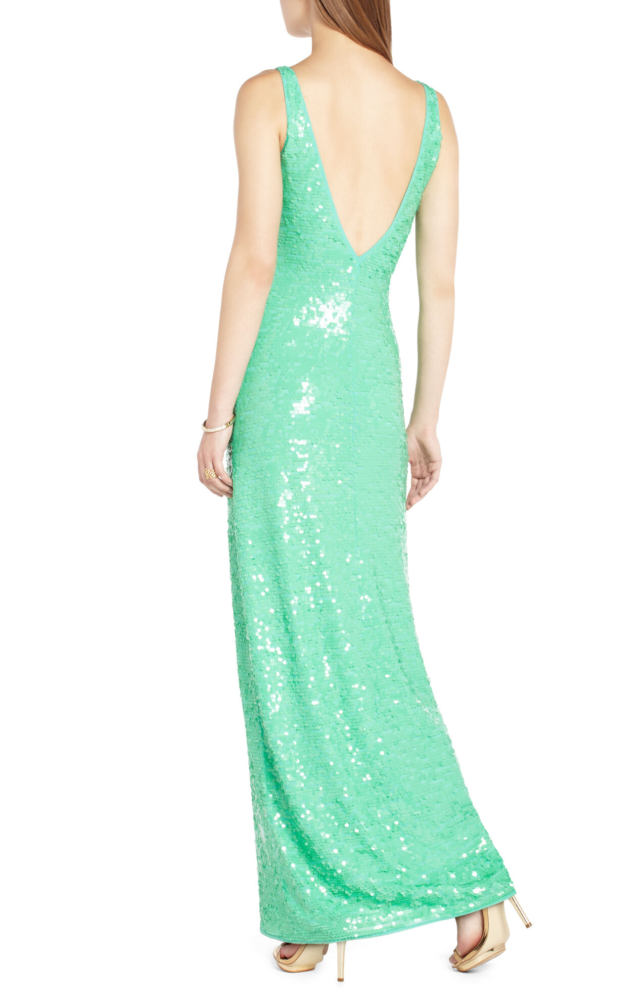 Sumner Sequined Evening Dress