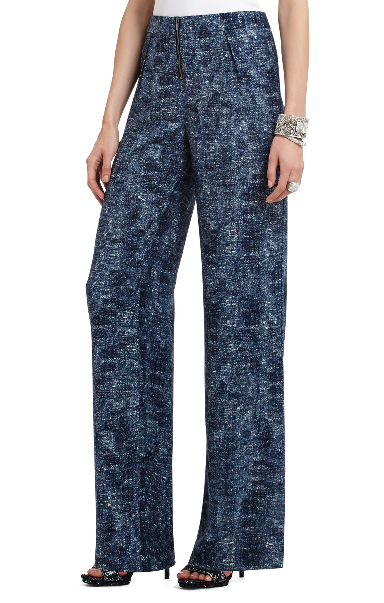 Landon High-Waisted Wide-Leg Pant