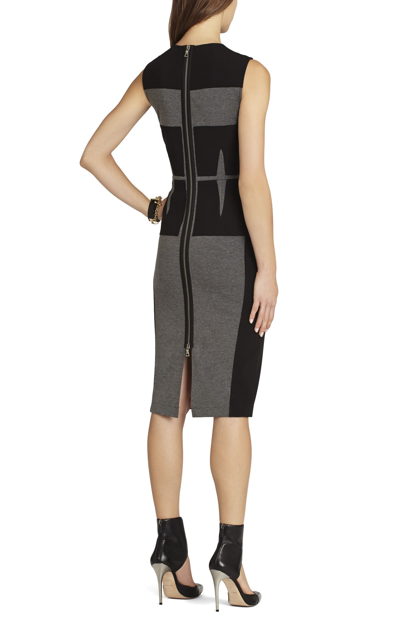 Karlie Blocked Corset Dress