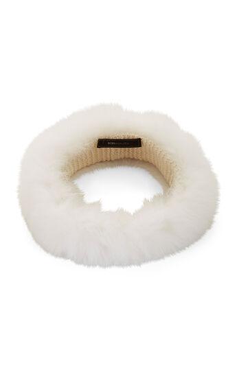 Rabbit Fur Head Wrap