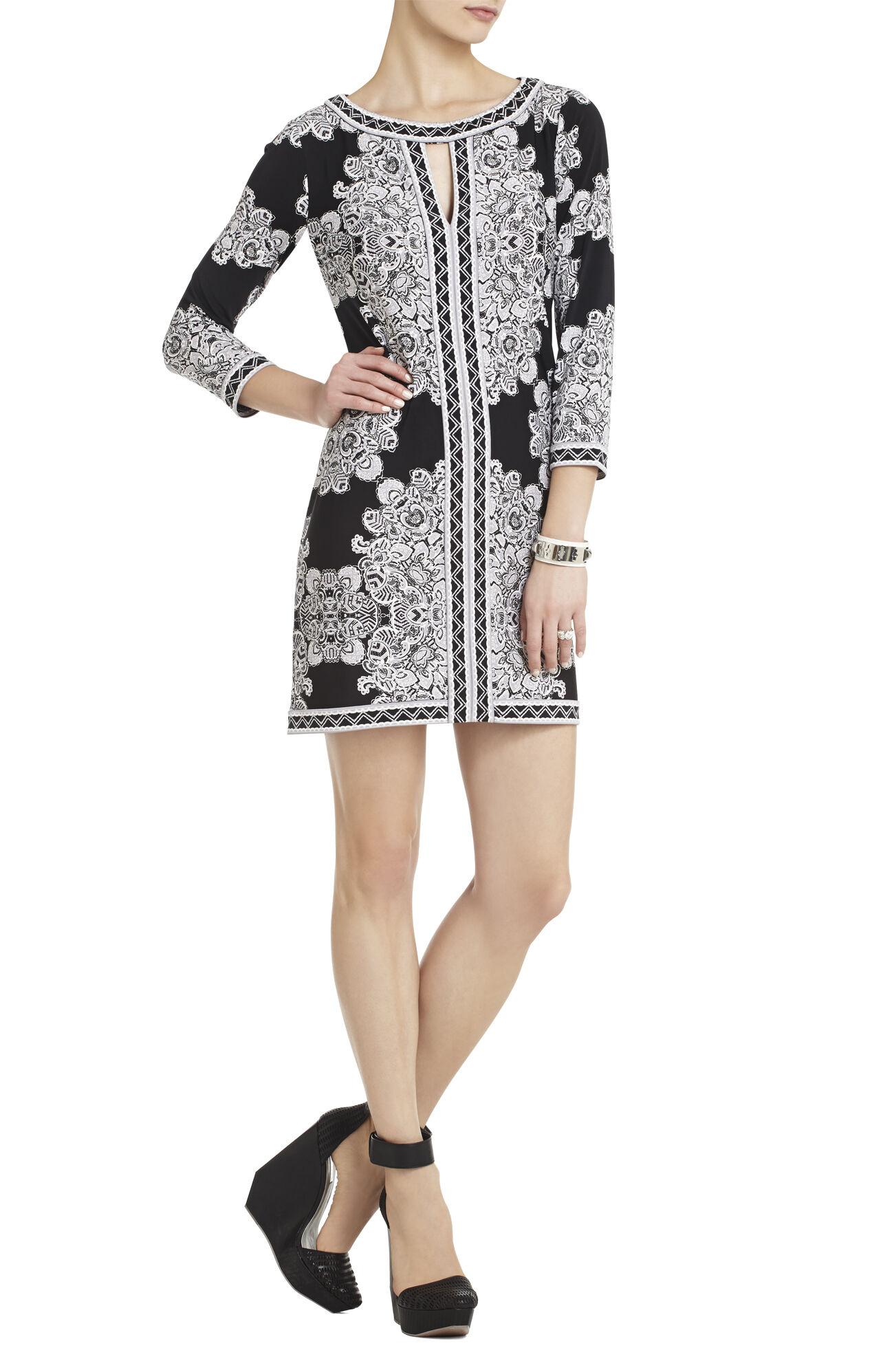 Avila Printed Sheath Dress