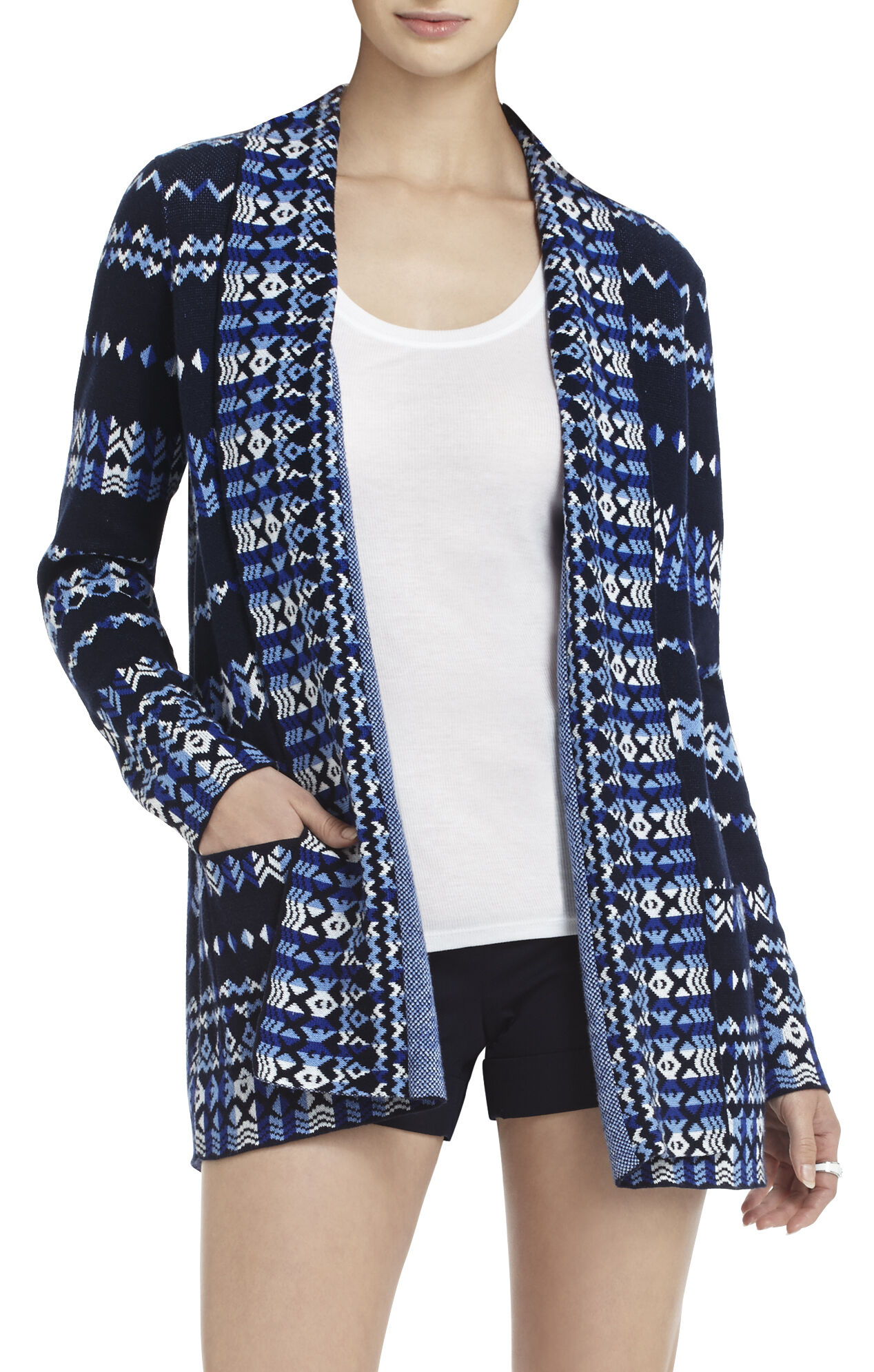 Amur Tapestry-Jacquard Cardigan