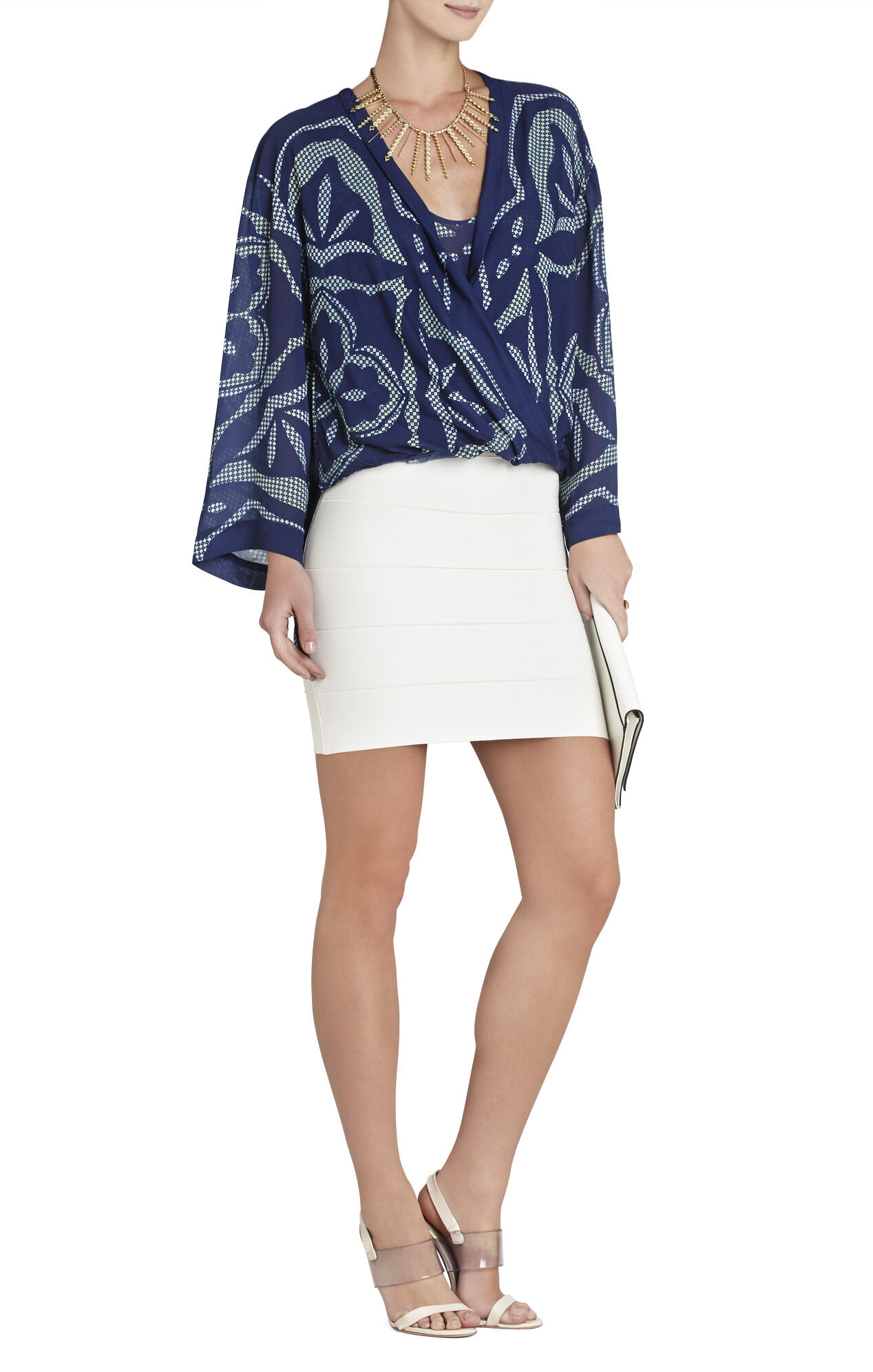 Ruthie Long-Sleeve Wrap Top