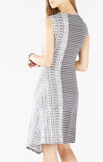 Alayna Asymmetrical Twist Dress