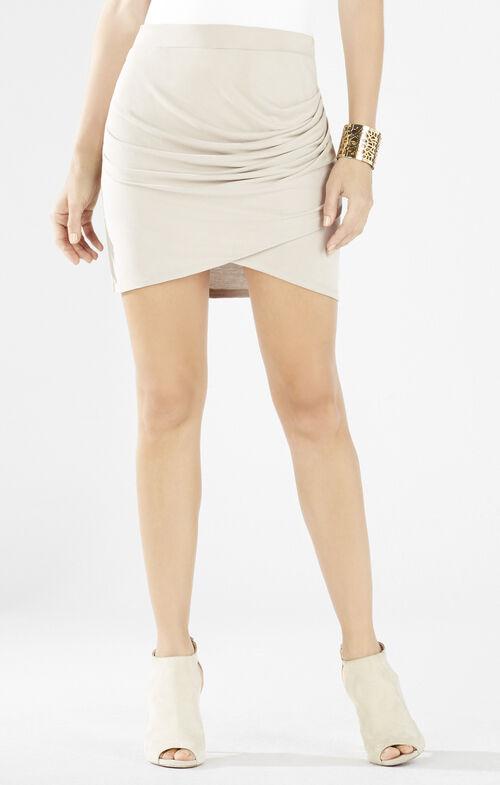 Paloma Pleated Tulip Skirt