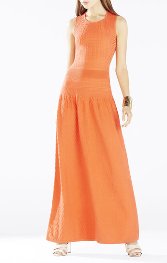 Delyse Pointelle Maxi Dress