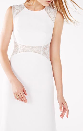 Maryana Embroidered Gown