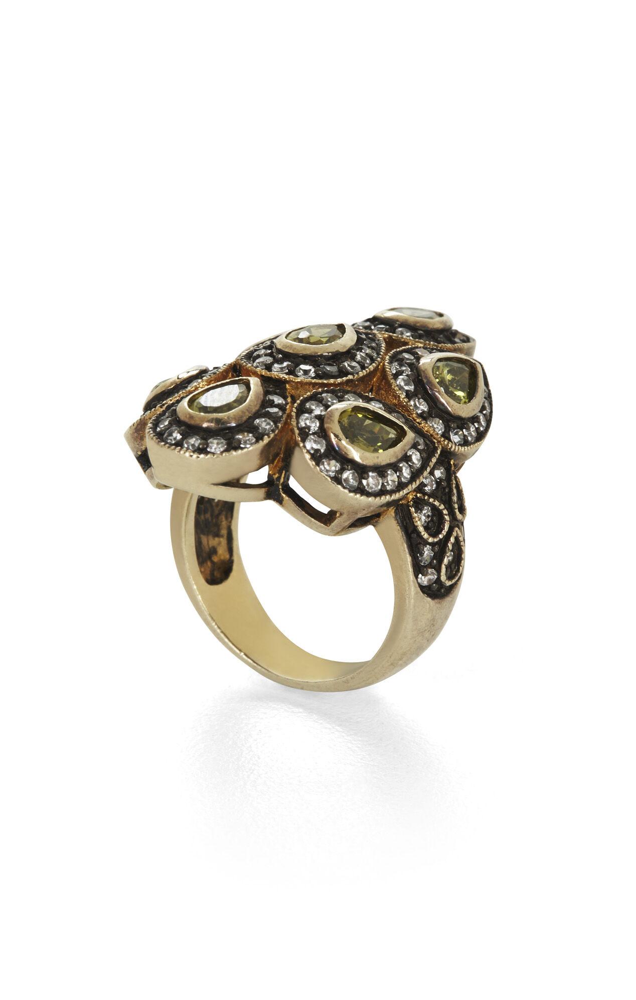 Teardrop Stone Ring