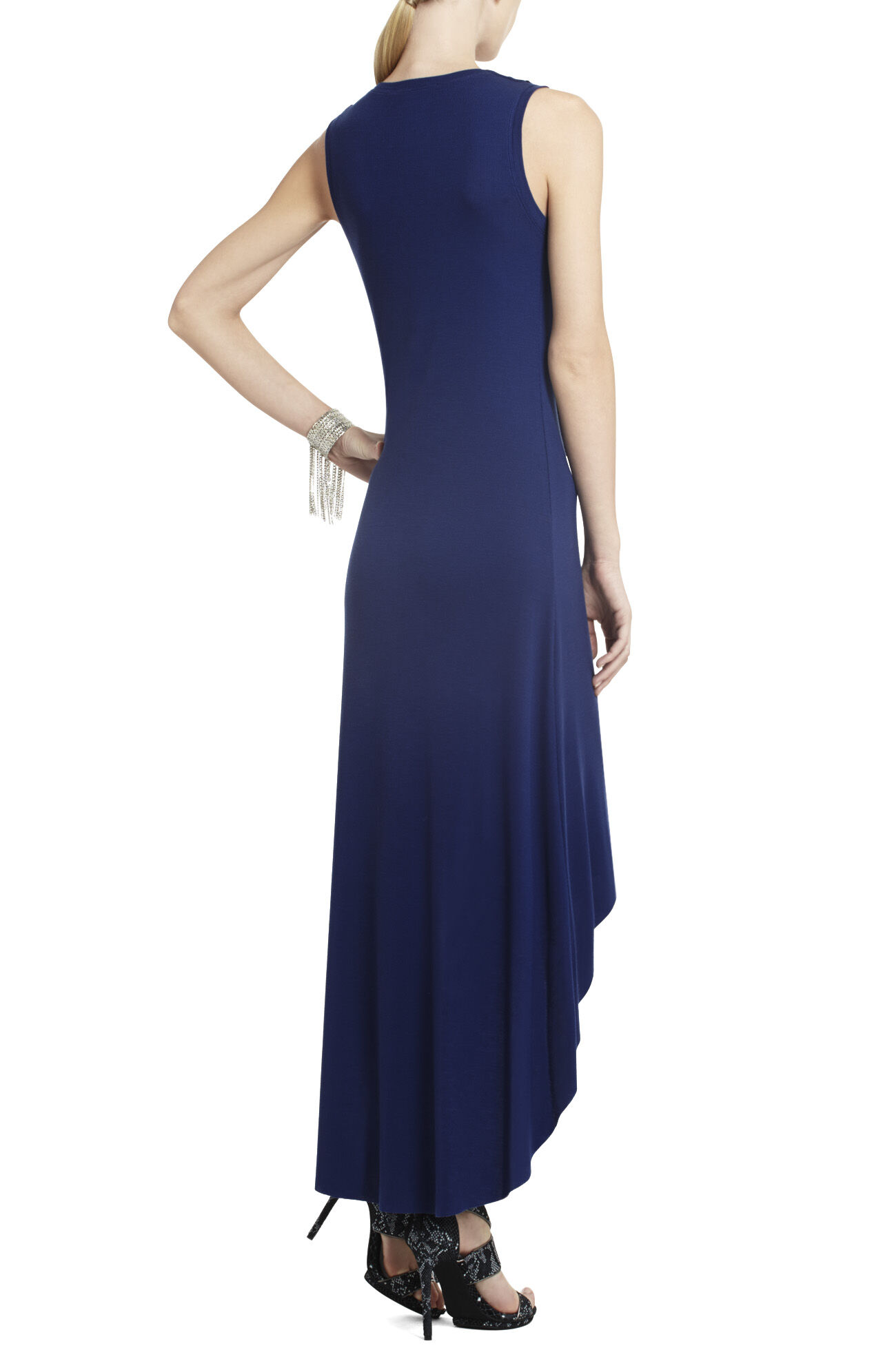 Lucca Dress with Front Drape