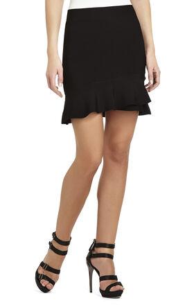 Chakra Criss-Cross Flounce Hem Skirt