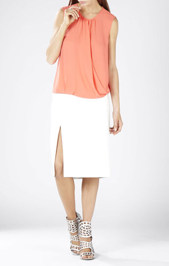 Binx Sleeveless Wrap Top