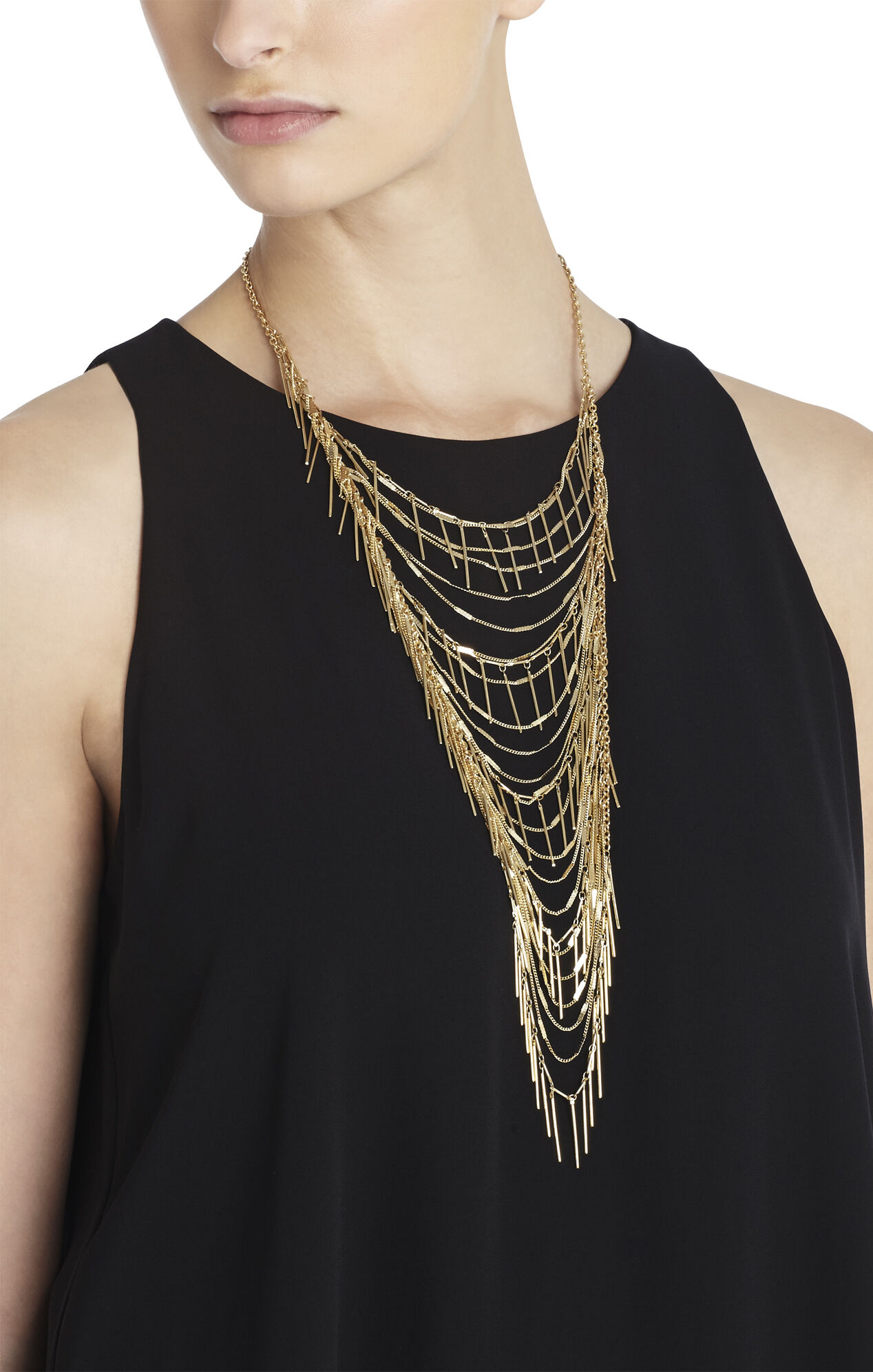 Boho Fringe Necklace