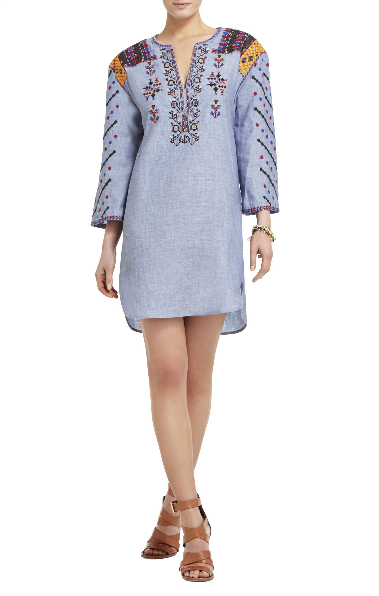 Aveena Embroidered Tunic