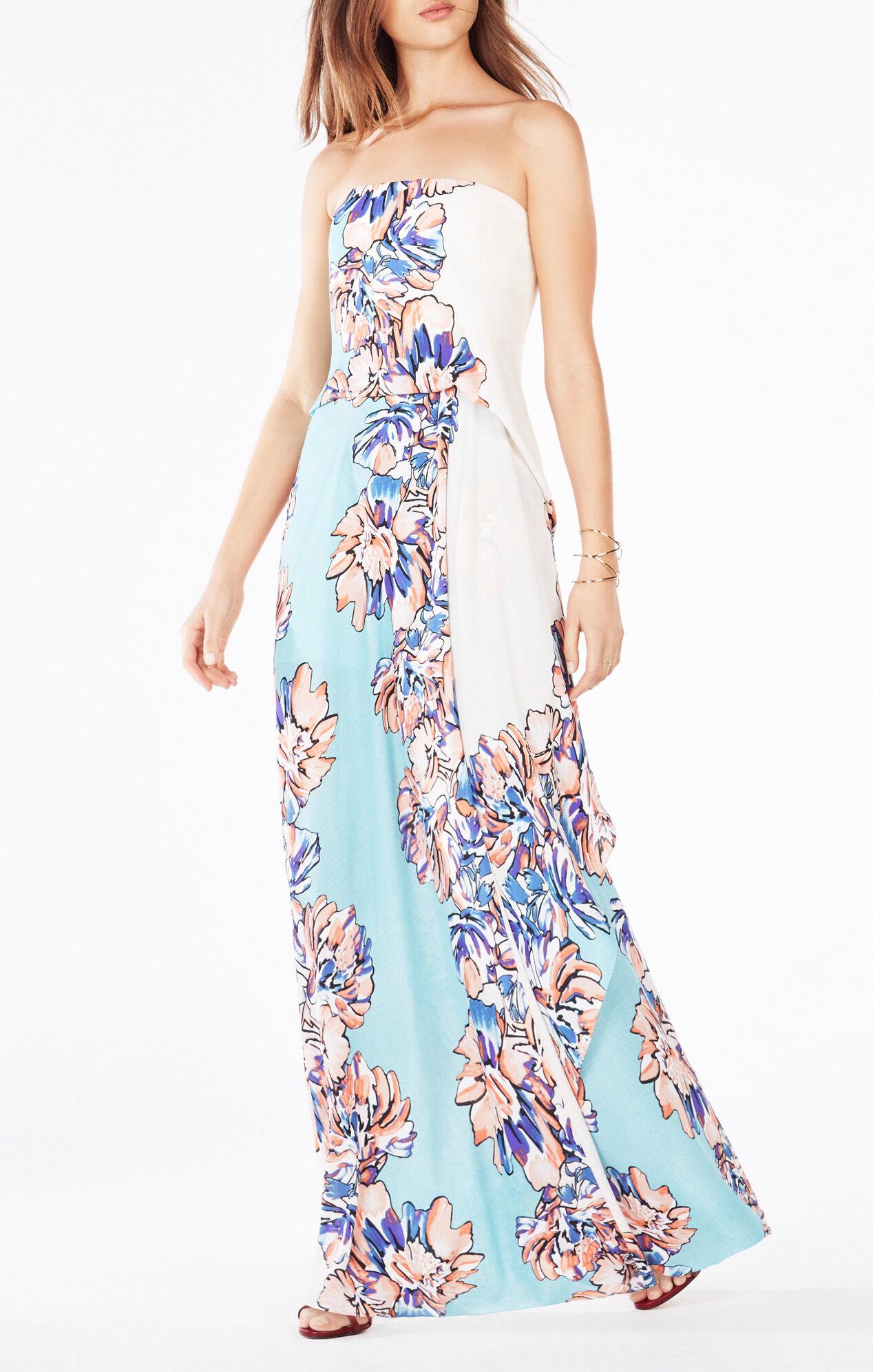 Grace Floral-Print Maxi Dress