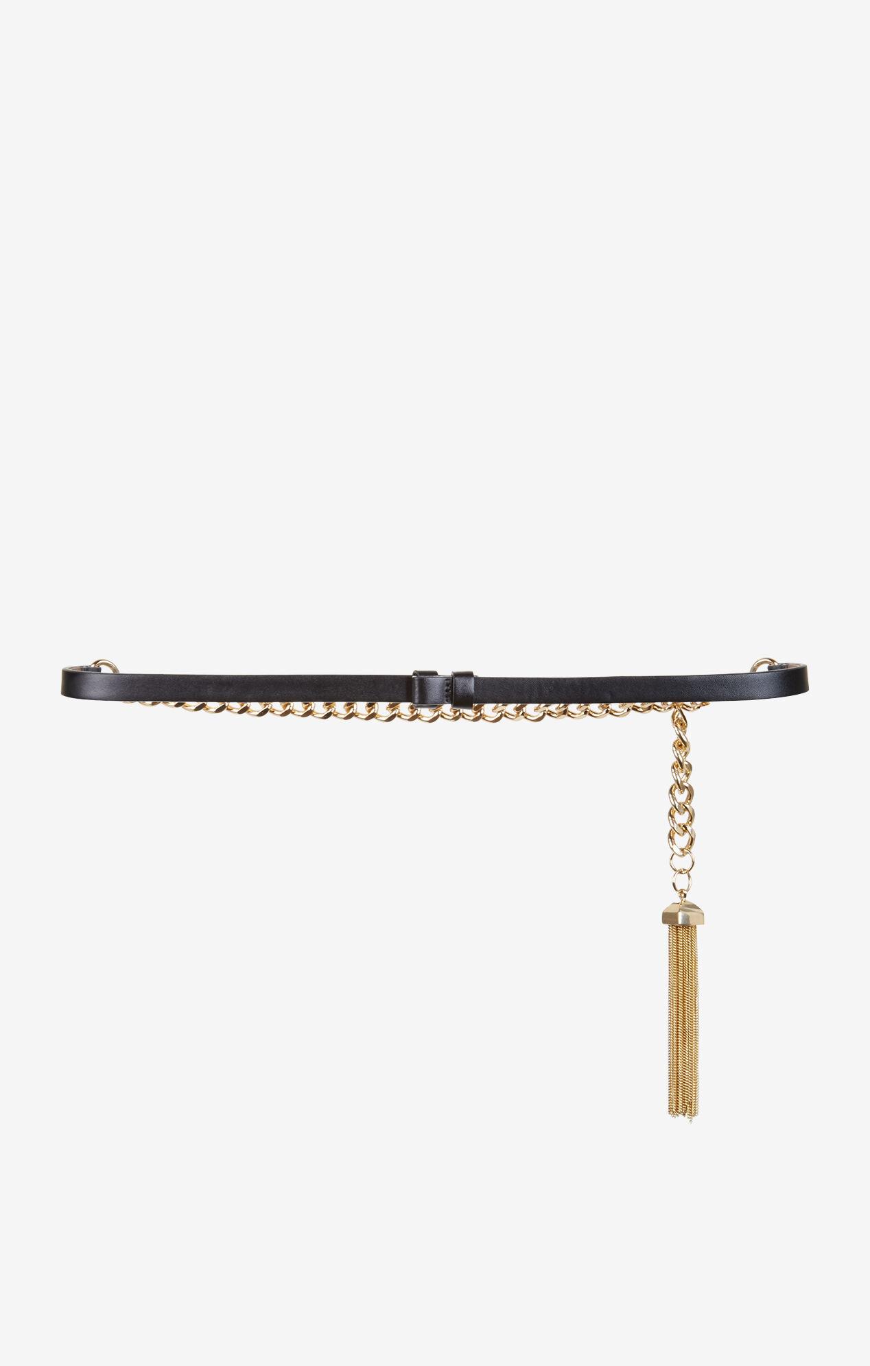 Chain Tasseled Waist Belt