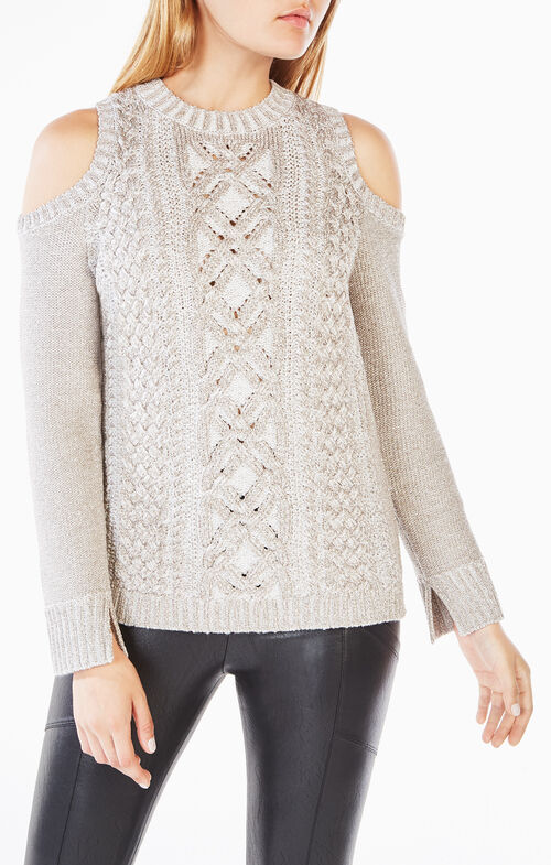 Arlene Cold-Shoulder Sweater