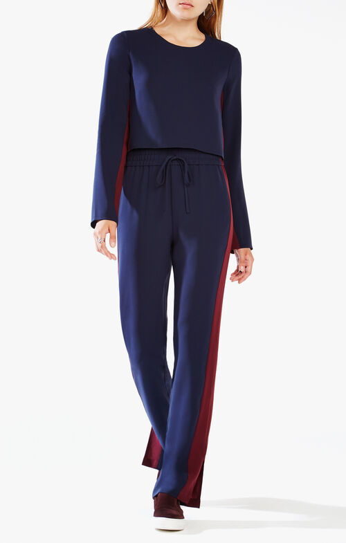 Smitry Color-Blocked Jumpsuit