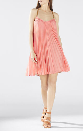 Cayanne Sleeveless Pleated Dress