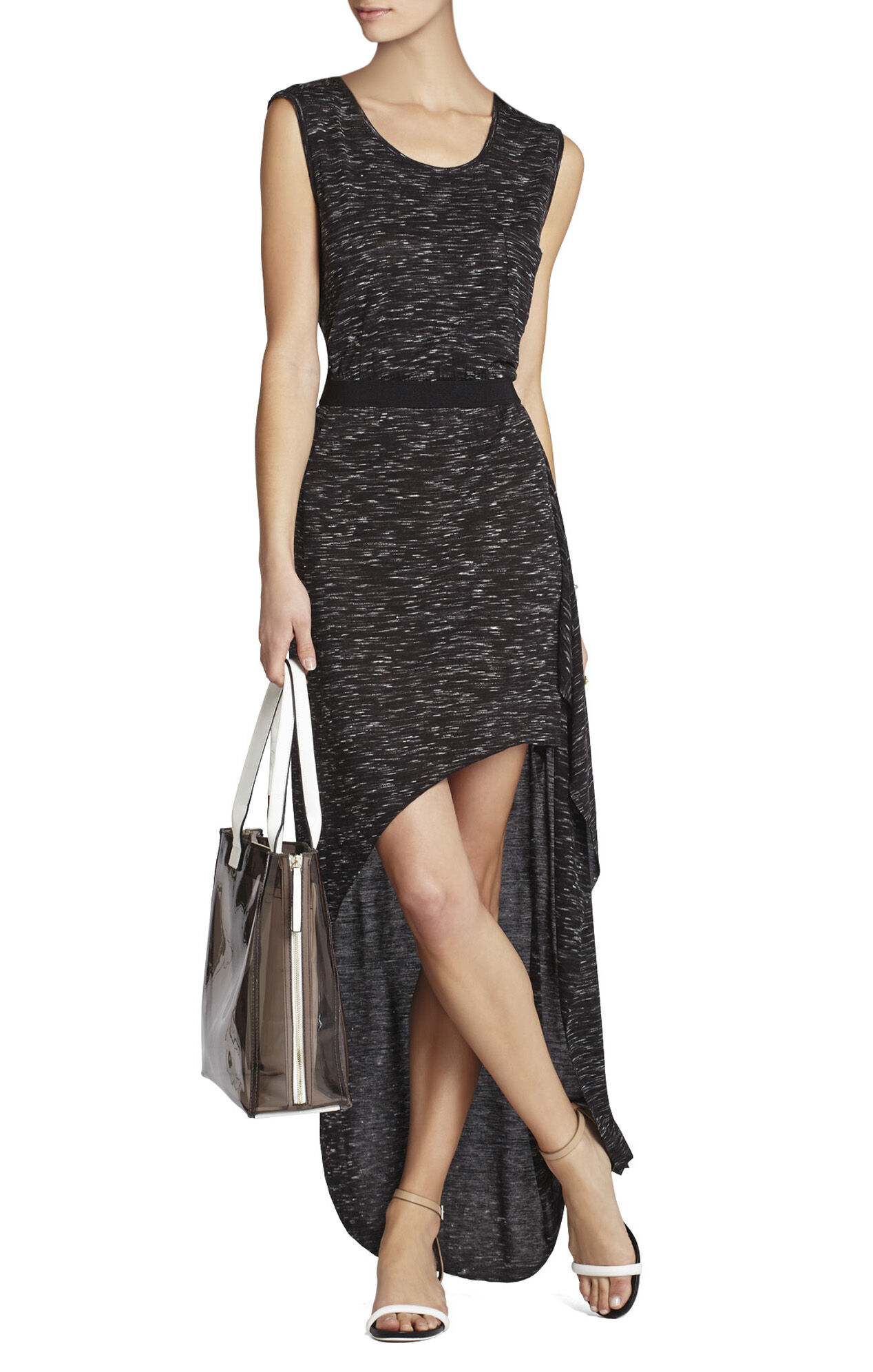 Evelyn Sleeveless Asymmetrical Dress
