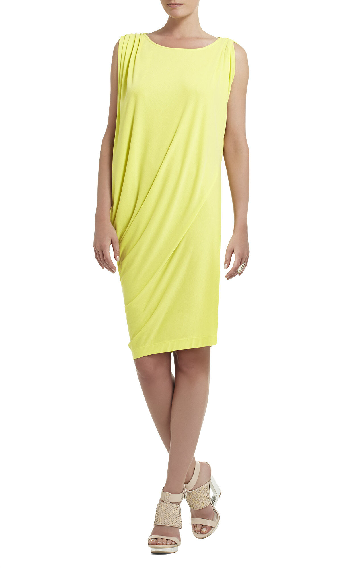 Juliette Draped-Side Dress