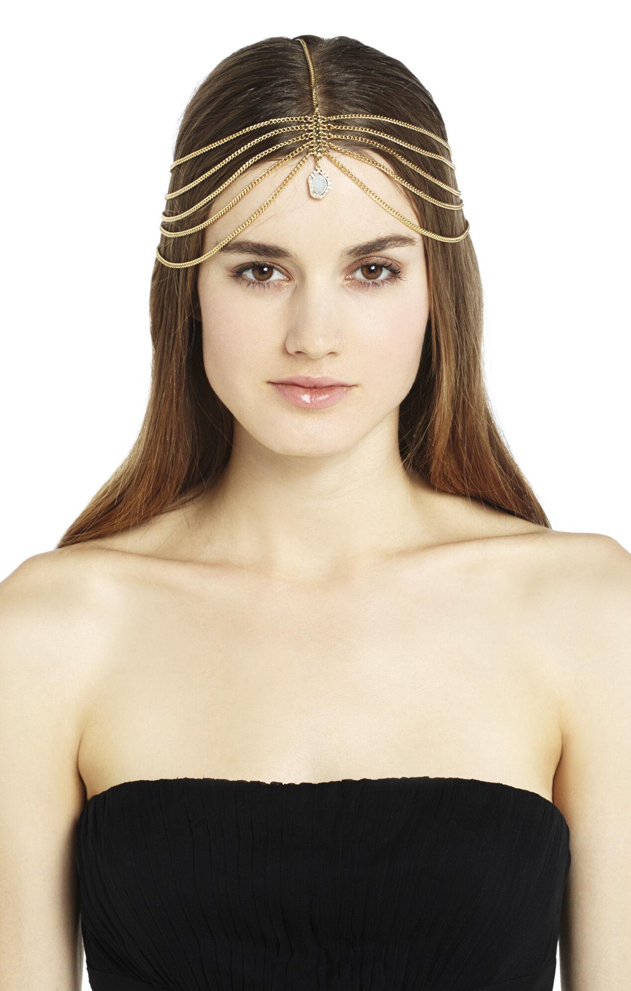 Tri-Chain Elastic Headband