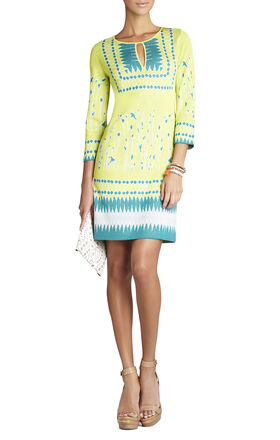 Lia Jacquard Dress