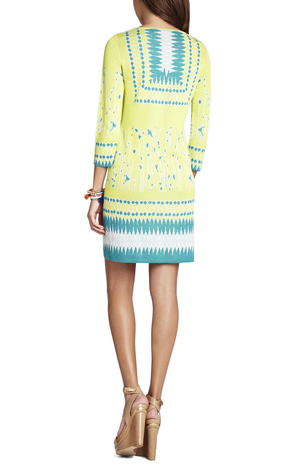 Lia Jacquard Dress