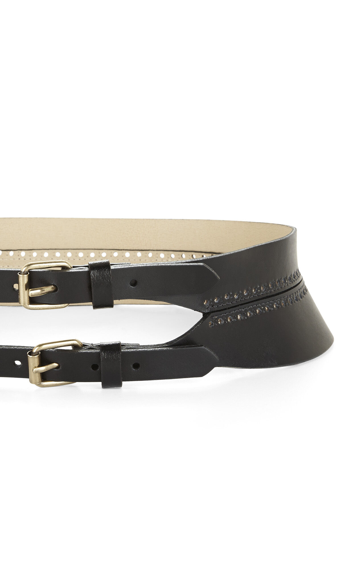 Double-Buckle Waist Belt