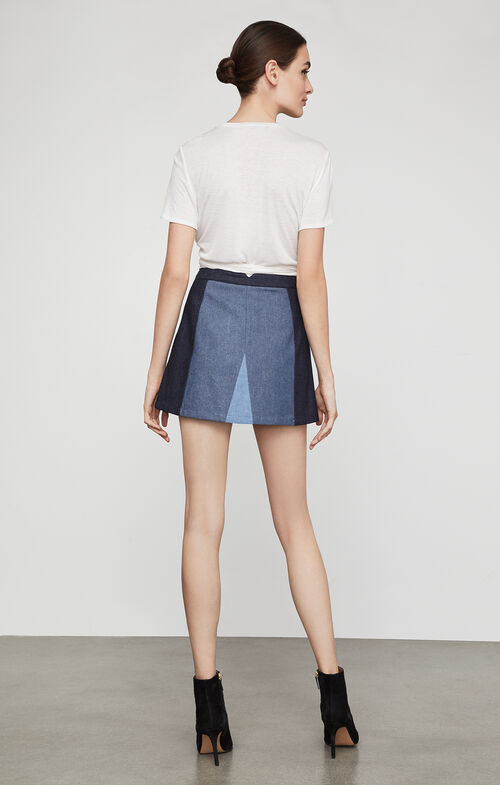 Judah Color-Blocked Skirt