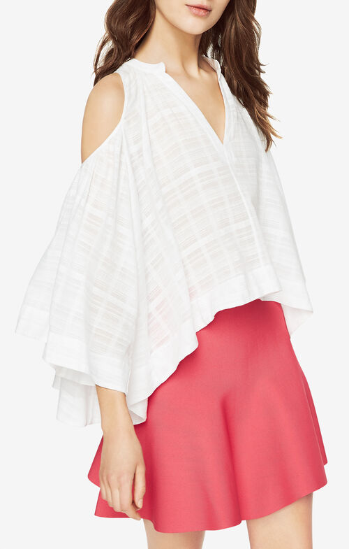 Elin Cold-Shoulder Top