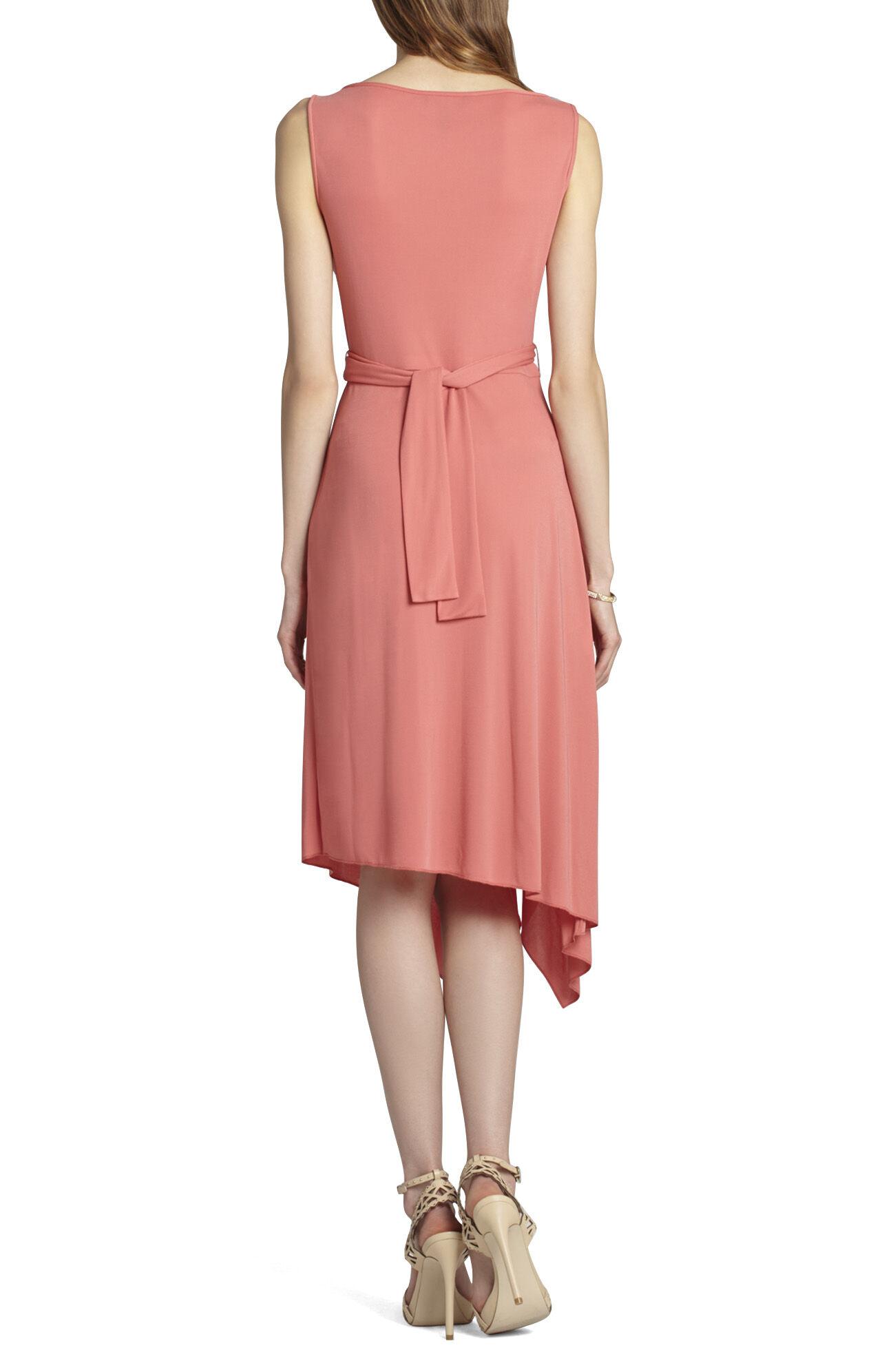 Ezra Boatneck Asymmetrical Dress