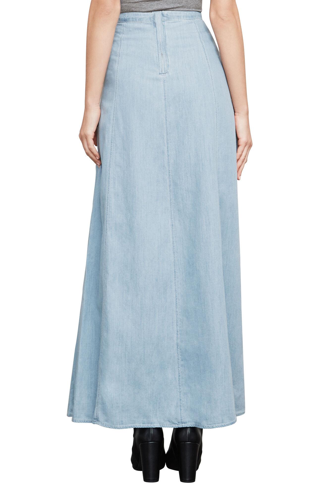 Kimberly Denim Maxi Skirt