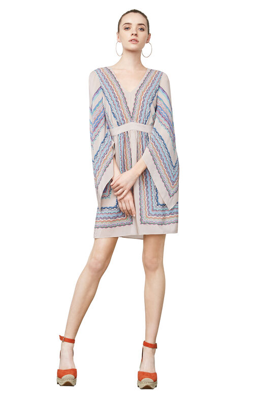 Jenissa Scarf Print Dress