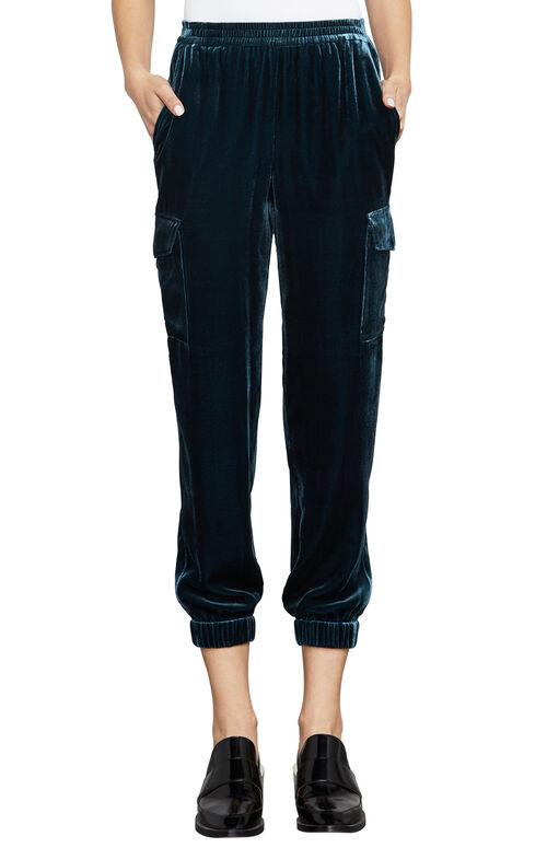 Cian Velvet Cargo Pant