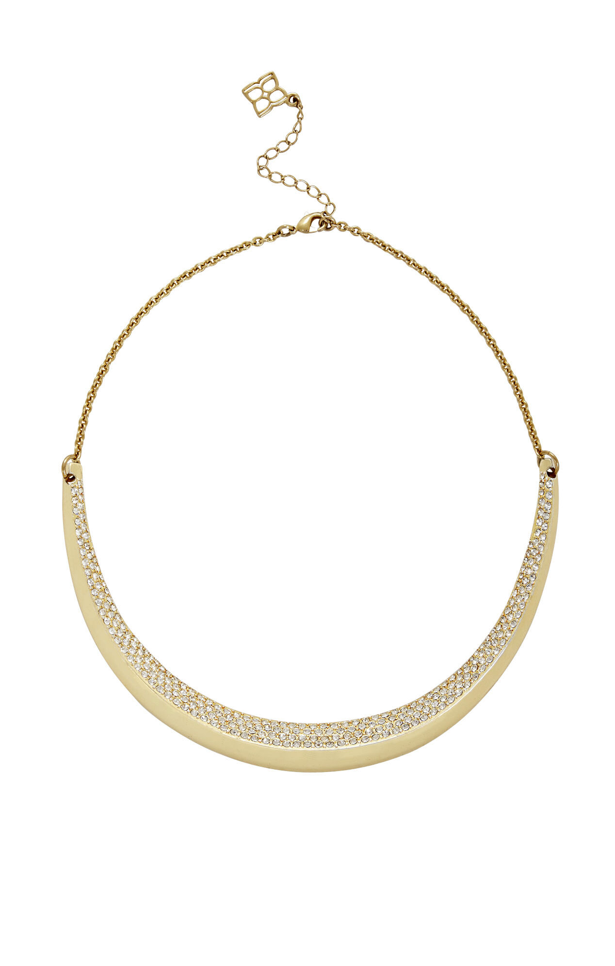 Pave Beveled Necklace