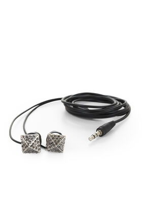 Pave Stud Earbuds