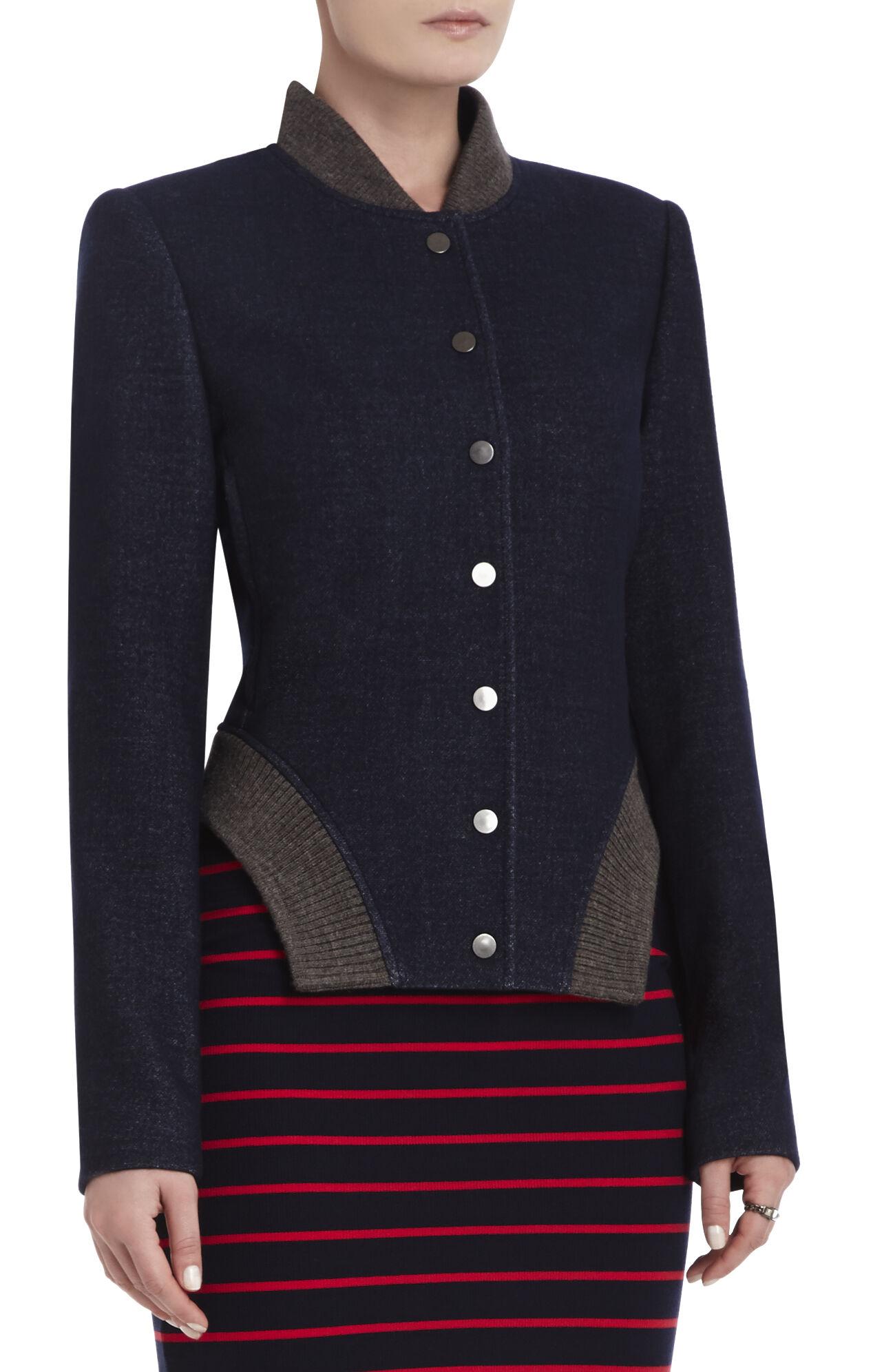 Ace Rib-Contrast Jacket