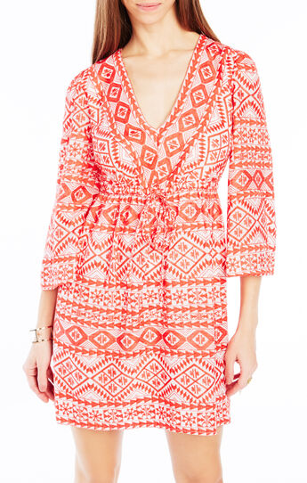 Jacky Geometric Embroidered Dress