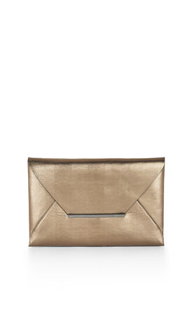 Harlow Metallic Envelope Clutch